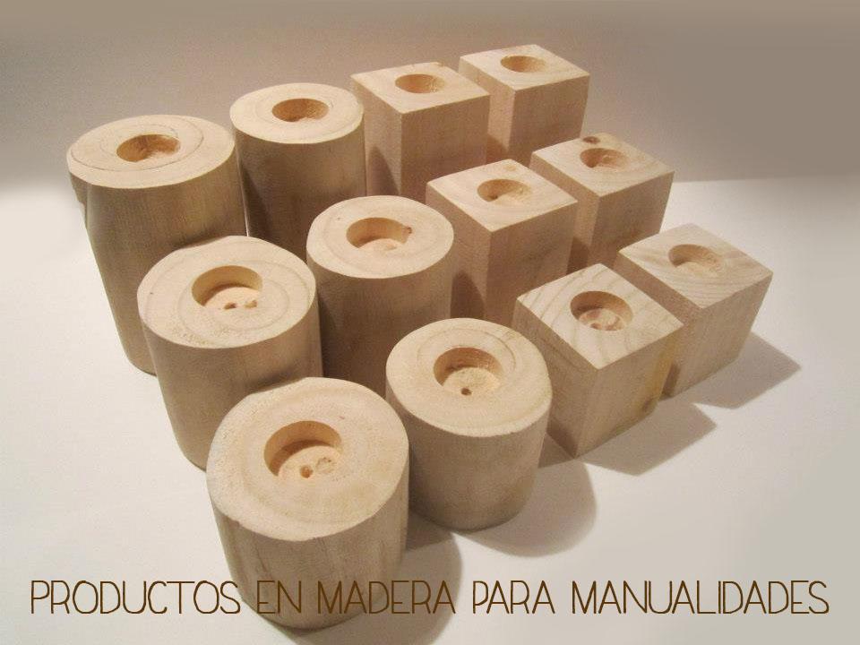 Productos en madera para manualidades mamaniaca - Manualidades con madera faciles ...