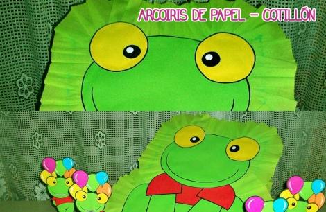 Arcoiris De Papel Cotillon