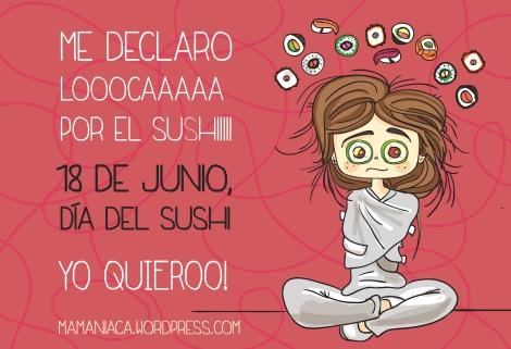 loca por el sushi