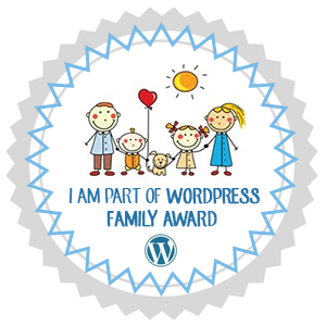 premio I AM PART OF WORDPRESS FAMILY AWARD